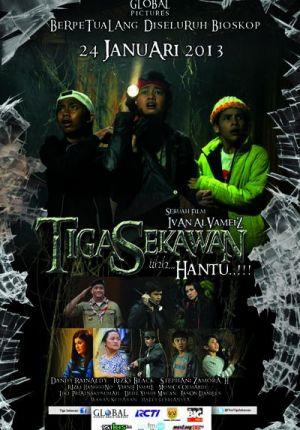 Film Tiga Sekawan di Bioskop