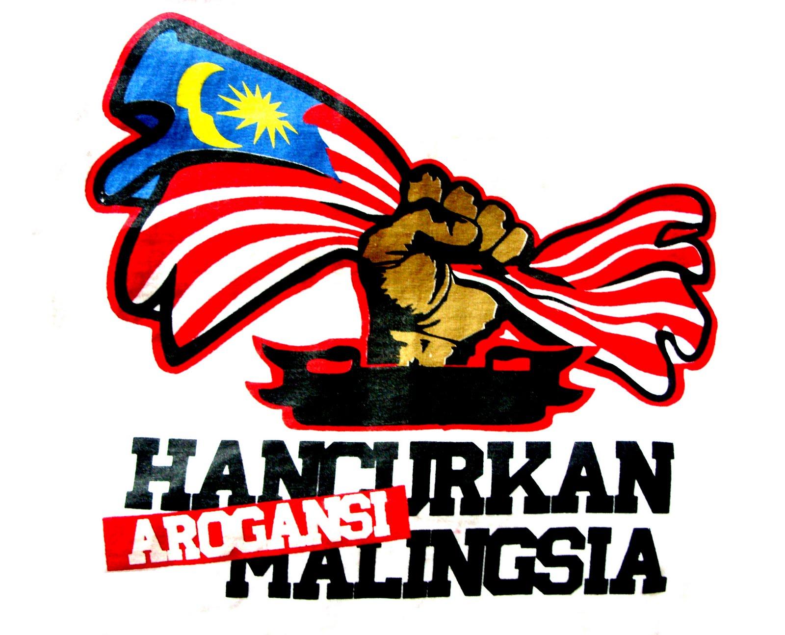 Malay atas bendera parti politik - 2 7
