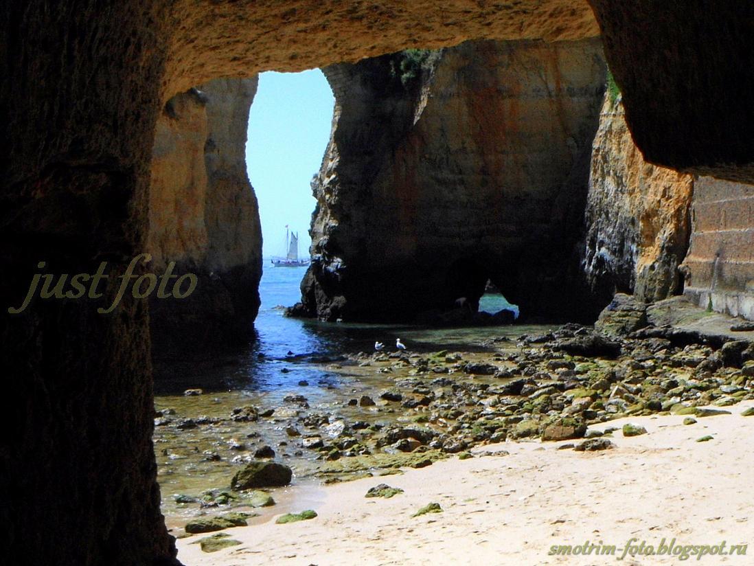 Алгарве Praia do Pinhao фото
