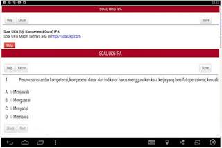 Aplikasi UKG IPA