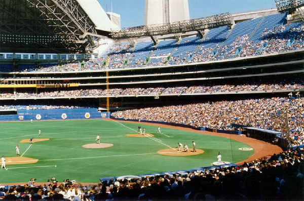a history of skydome a domed sports stadium