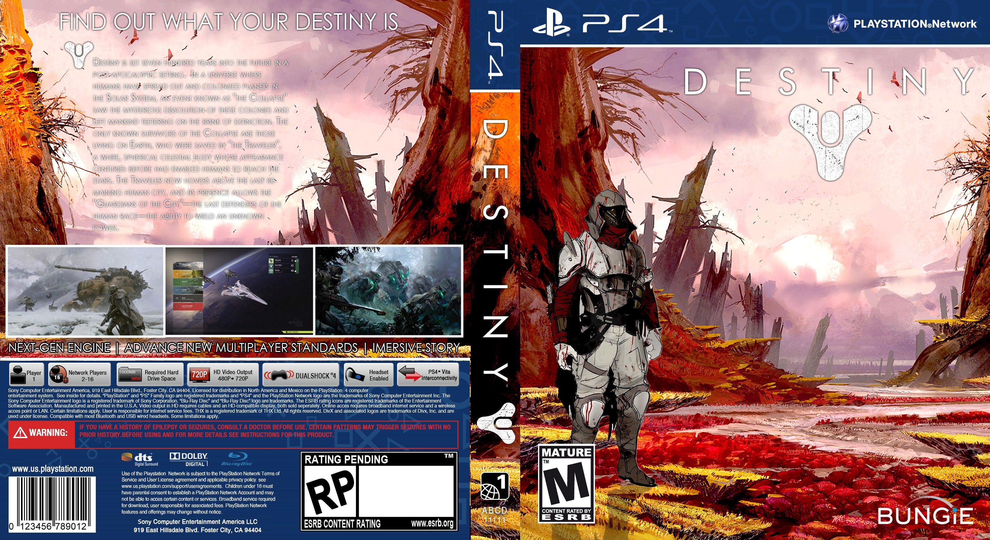 Capa Destiny PS4
