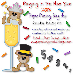 Ringing in the New Year Paper Piecing Blog Hop