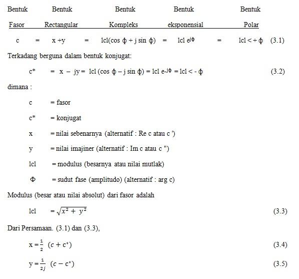 Proteksi sistem tenaga listrik phasor dan polaritas 322 diagram fasor untuk kuantitas sinusoidal ccuart Gallery