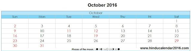 october-2016-hindu-calendar-with-festival-holiday