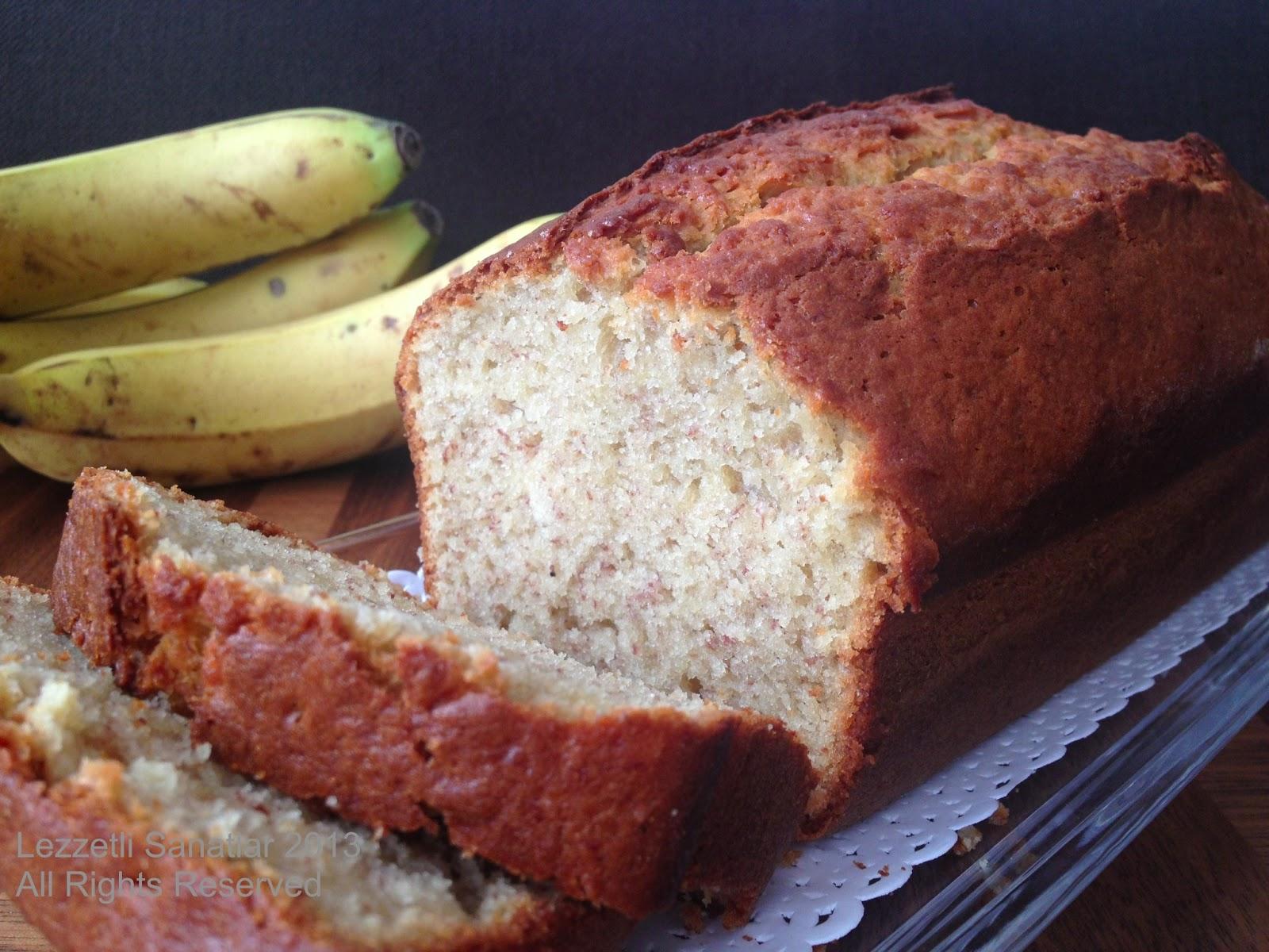 Havuçlu ve muzlu kek tarifi 86