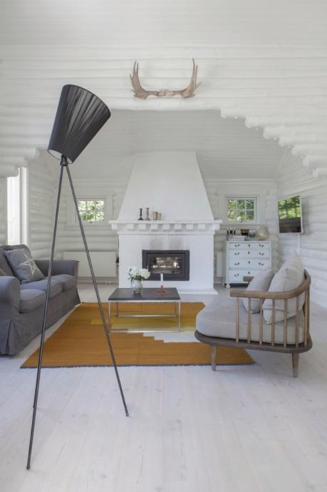 cabaña veraniega estilo escandinavo
