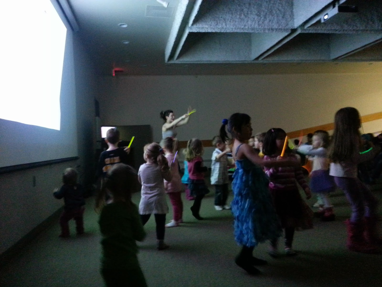 { preschool dance party }