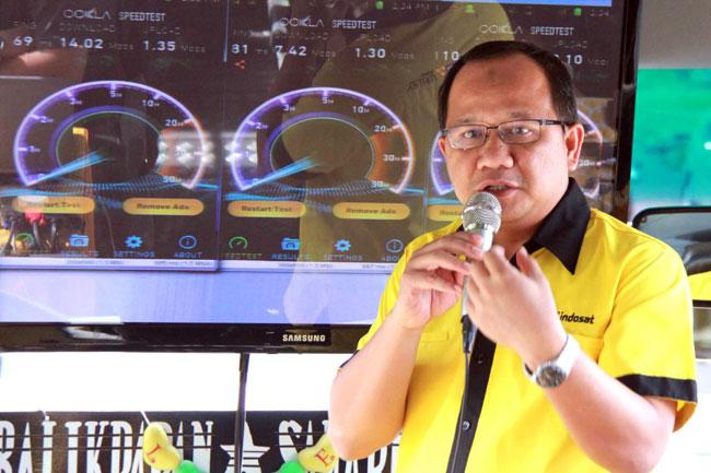 Ini Hasil Uji Jaringan Baru 42 Mbps Indosat di Balikpapan