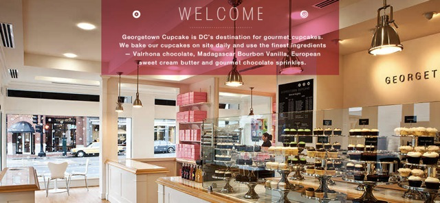 Camp Martin Travels Georgetown DC Cupcakes