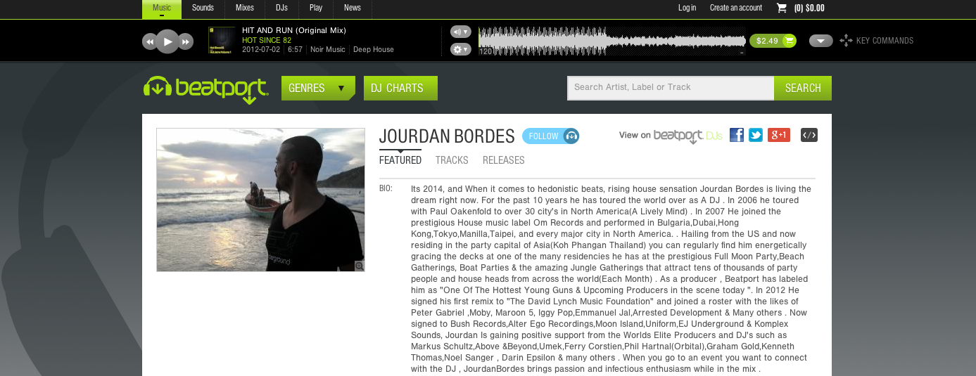 BEATPORT PROFILE