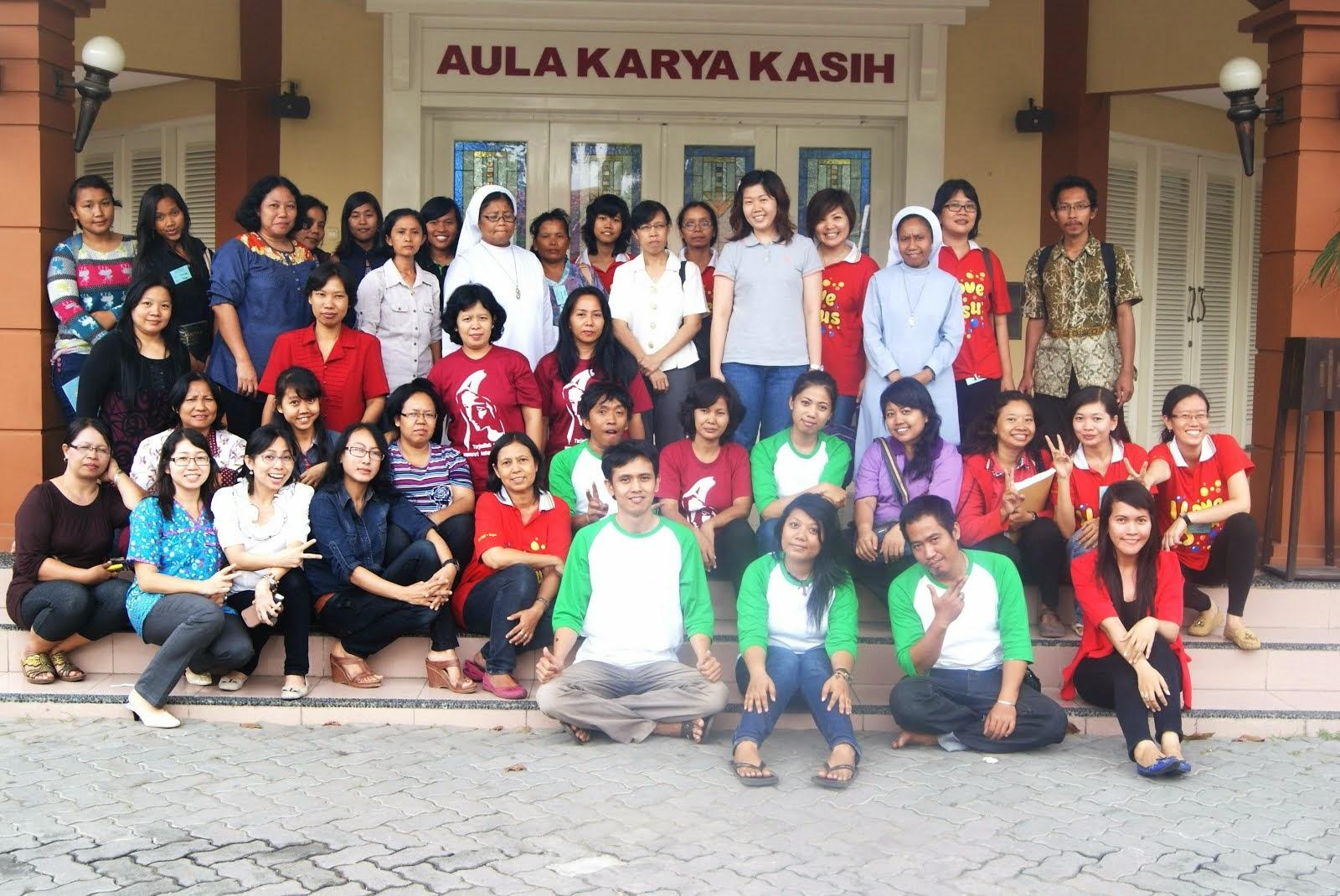 Bersama Para Pendamping BIA Paroki Tegal, Slawi, Brebes dan Mejasem (14-15 Juni 2014)