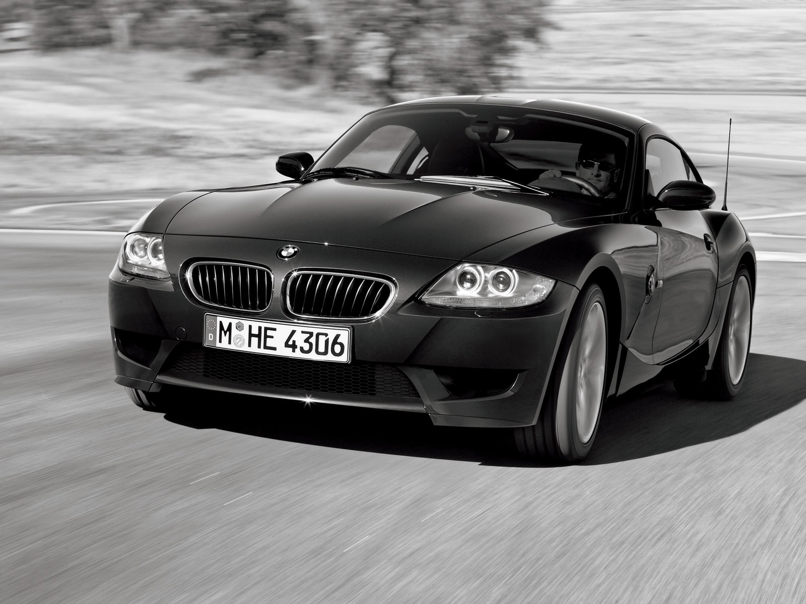 Fast Auto Black Bmw Car Wallpaper Photo