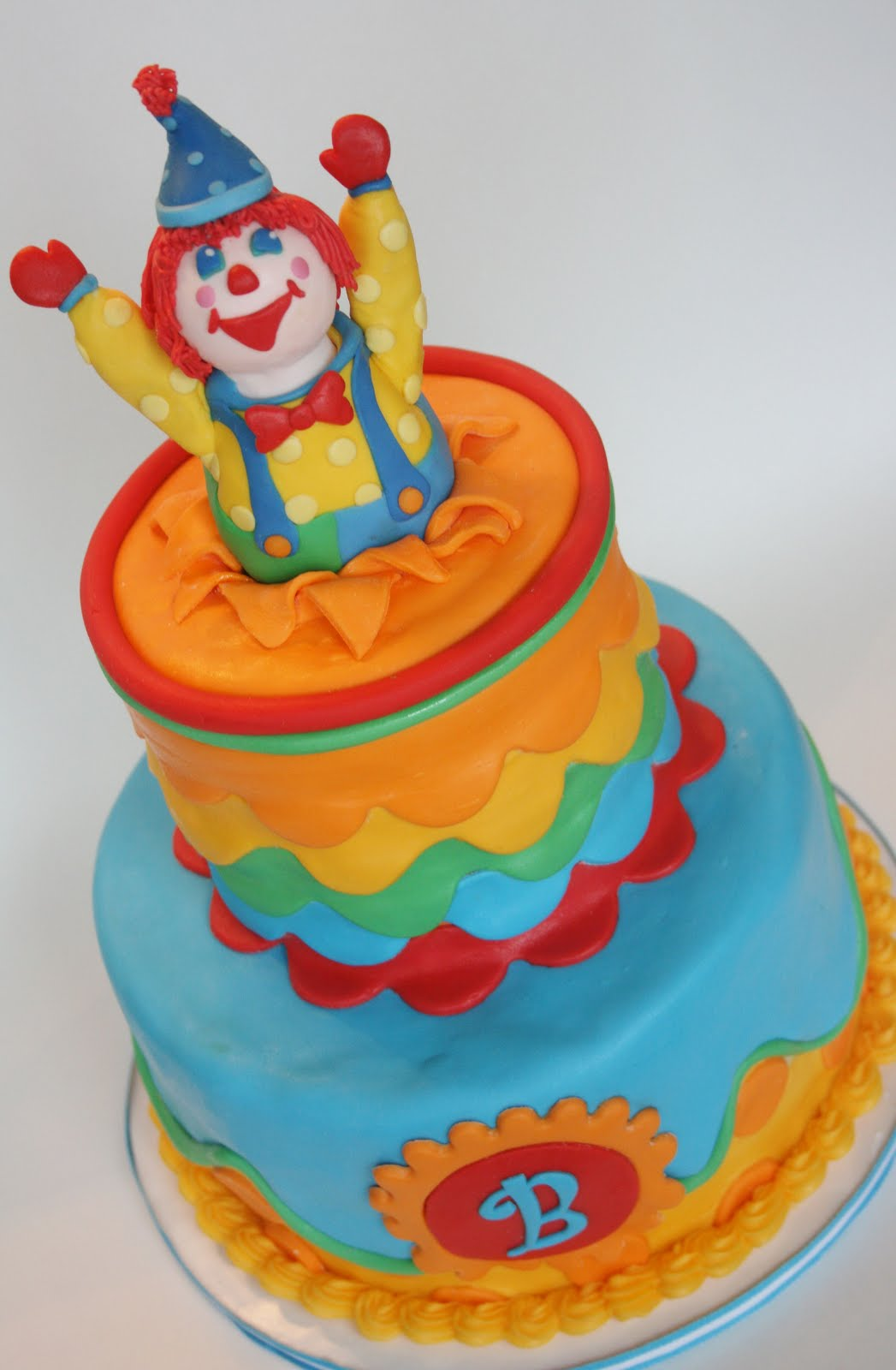 And Everything Sweet Clown Cake
