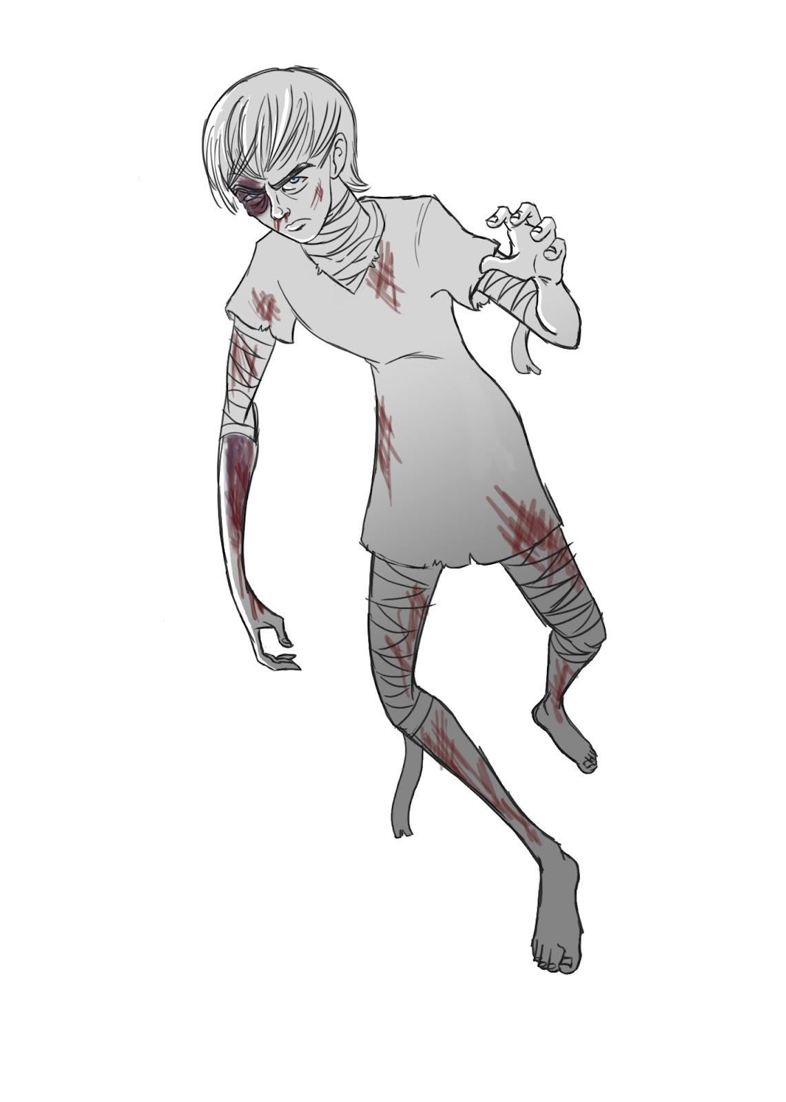 crowley creations  sketches  apex predator