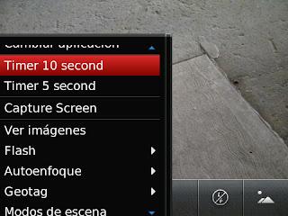 Mengatur Timer Camera BlackBerry dengan Nux Shoot