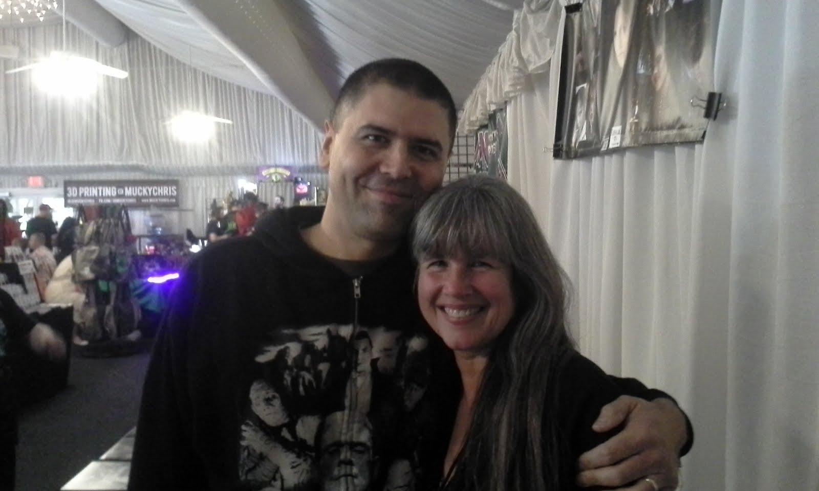 Me with Deborah Voorhees