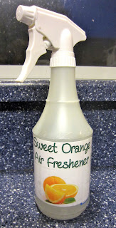 Homemade, natural Febreze: BrownThumbMama.com