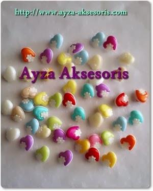 Kancing Love Ayza Aksesoris