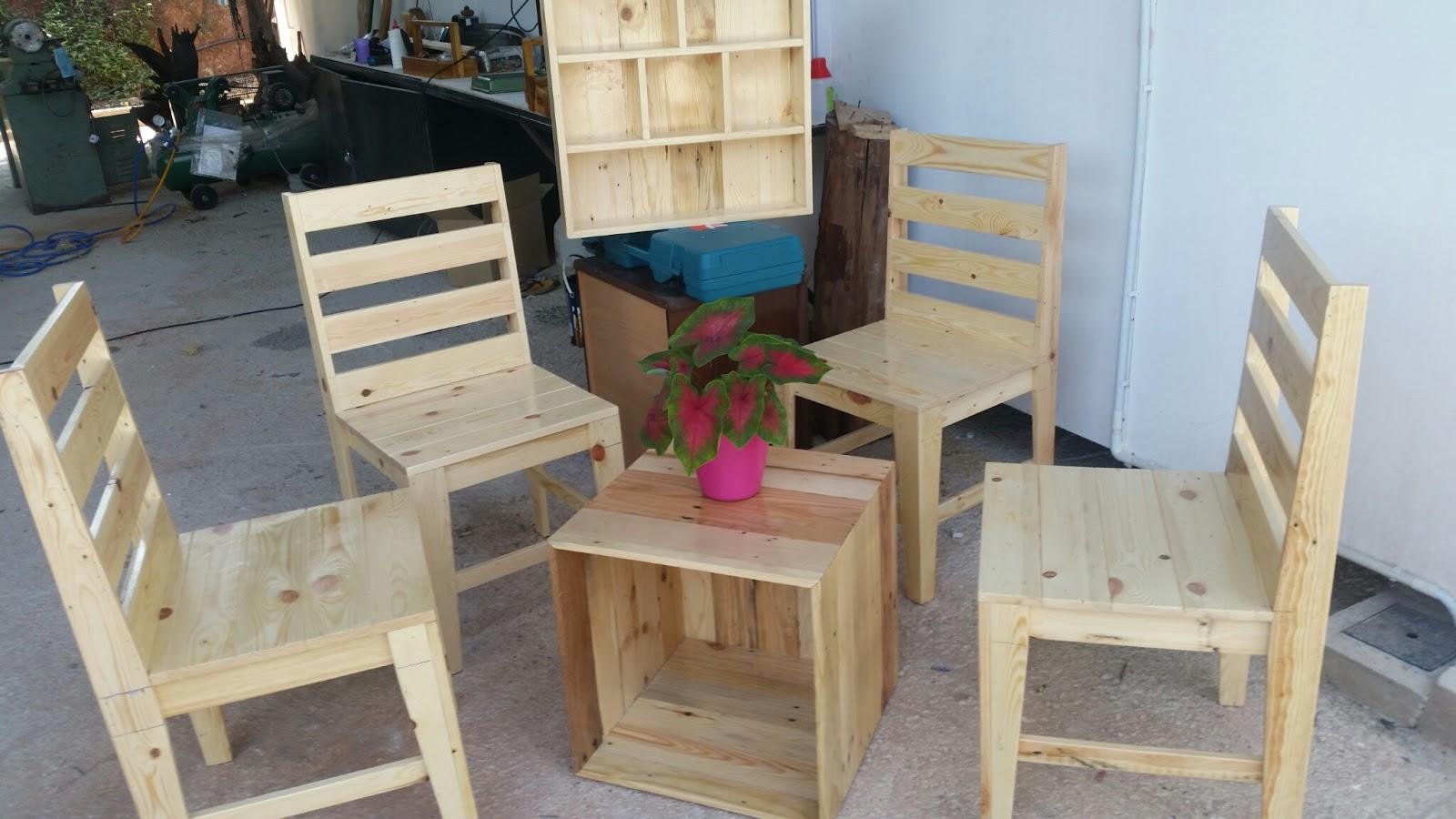 Kayu Warisan Malaysia: Perabut dan bekalan kayu pallet