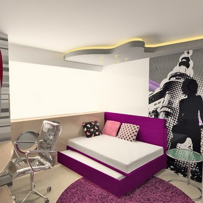Cu ntame al o do septiembre 2011 - Dormitorio juvenil chica ...