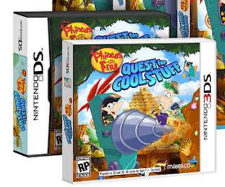 Phineas And Ferb: Quest For Cool Stuff (DS, 3DS)
