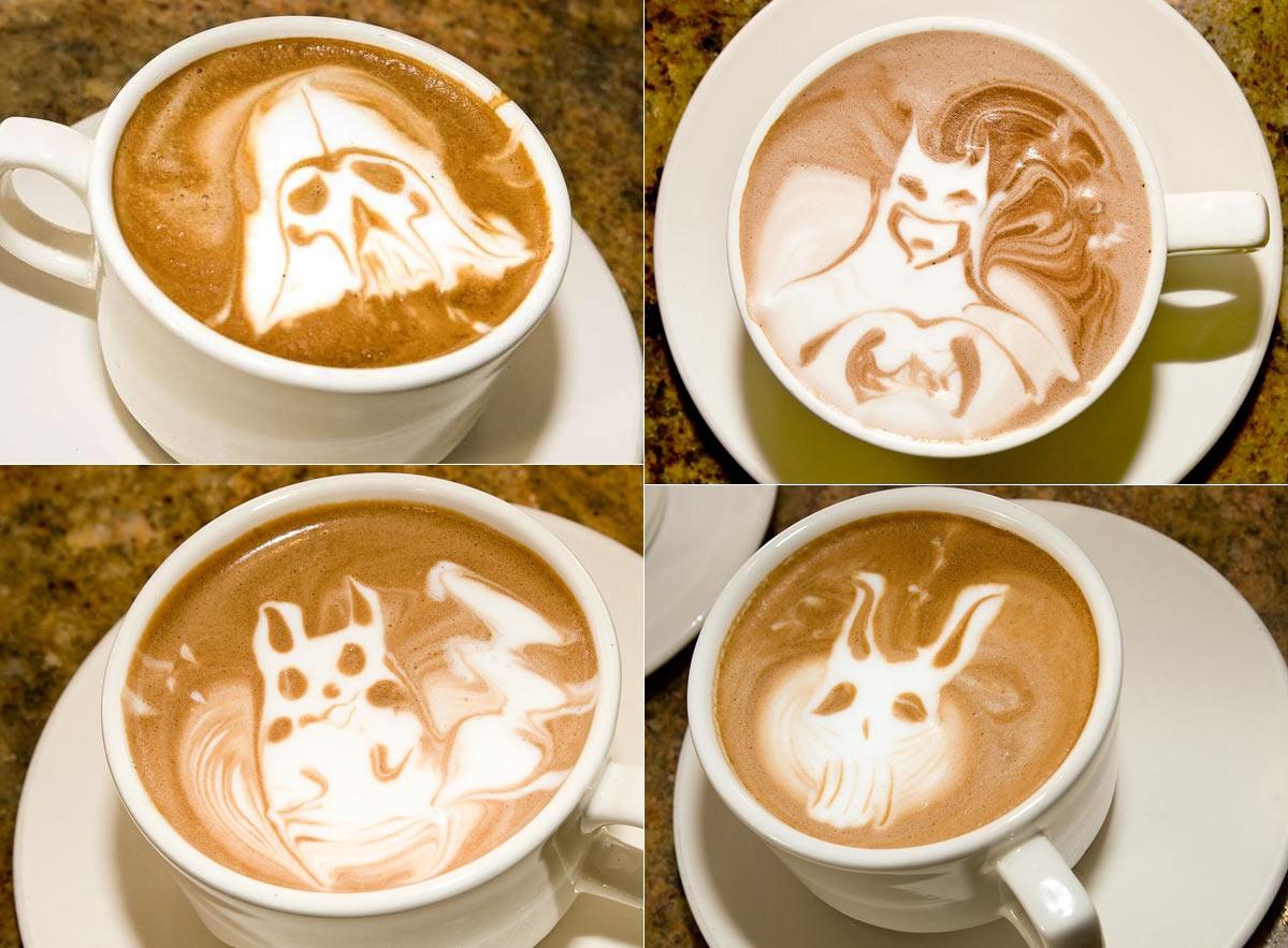 coffee site: NEW COFFEE ART WALLPAPERS - LOVE
