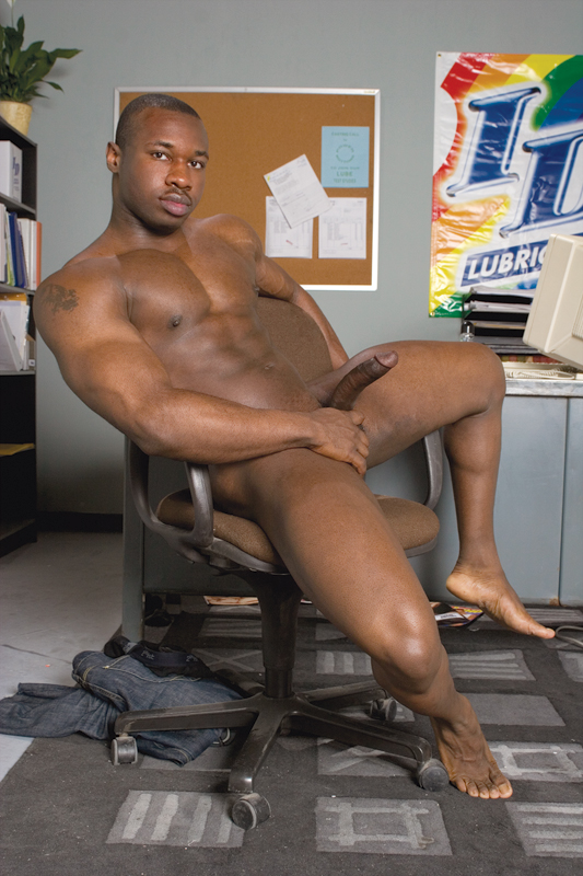 Les icones du X gay black. Black gay porn icons: Marc Williams