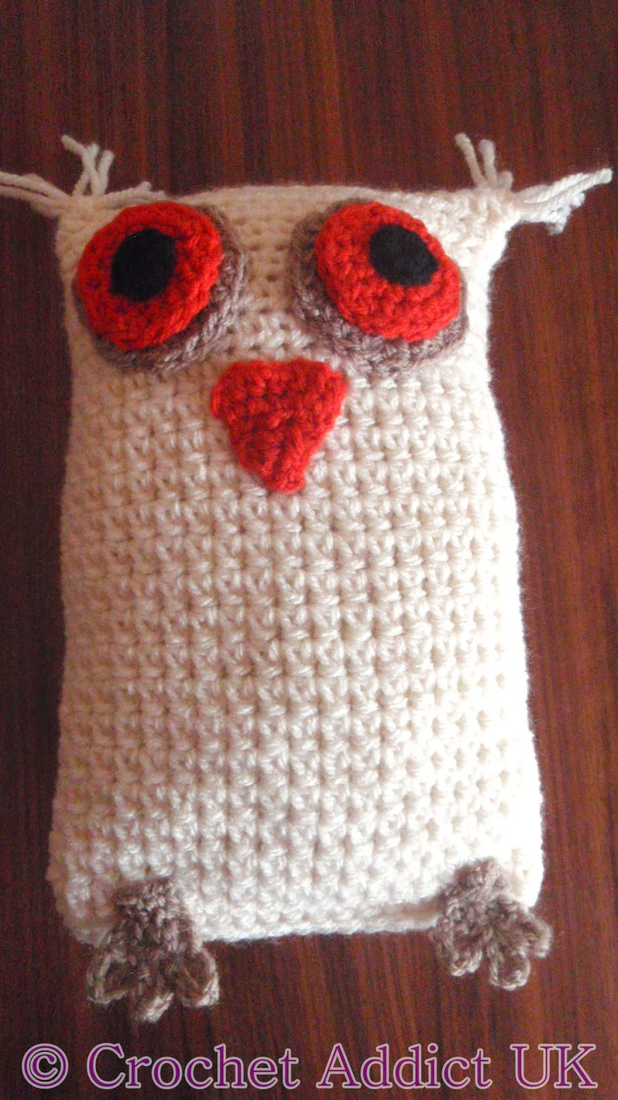 Owl #Ami ~ #Free #Crochet Pattern ~ Crochet Addict UK
