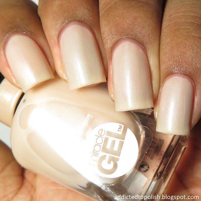 sally hansen miracle gel cream of the crop