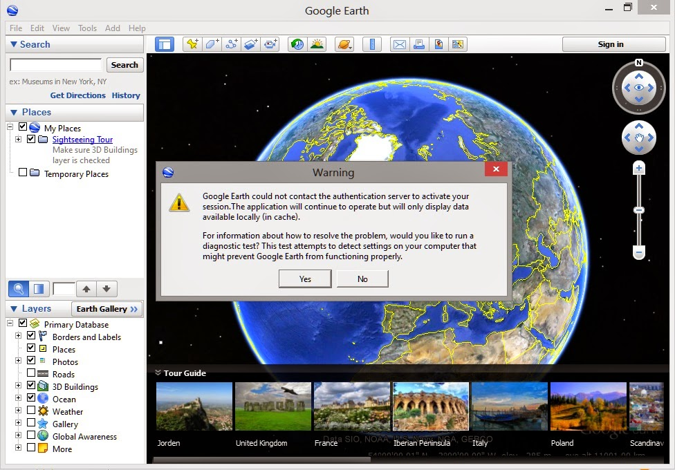 google earth connection error حل مشكل فتح Google Earth عن طريق DNS fixing google earth connection error حل مشكل فتح Google Earth عن طريق DNS