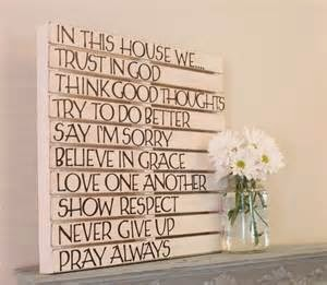 Fancy Every family needs a list of rules iterated even if their are none This wall art would say no rules here be free to be
