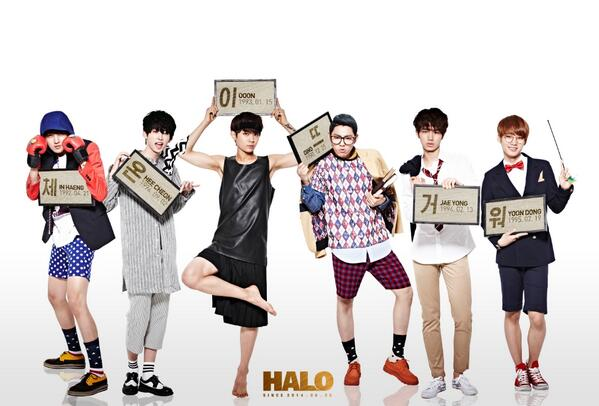 Halo Korean Boy Group