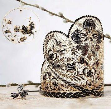 Kráľovská koruna by Petra Toth pre kráľovnú krásy  Slovakia 2013 Jeanette Borhyovú