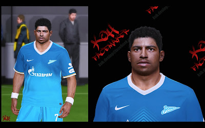 PES 2014 HULK Face by K0H