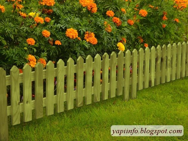 Садовые заборчики своими руками