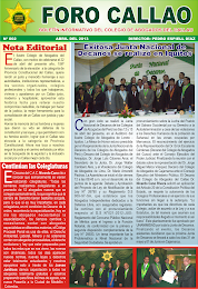 """FORO CALLAO"" EDICIN N 2 - ABRIL 2013"