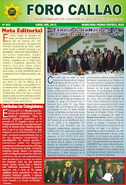 """""""FORO CALLAO"""" EDICIÓN Nº 2 - ABRIL 2013"""
