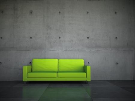 rev tement synth tique b ton et rouille pour changer de d co f vrier 2012. Black Bedroom Furniture Sets. Home Design Ideas