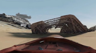 Capture from Star Wars 360 Video