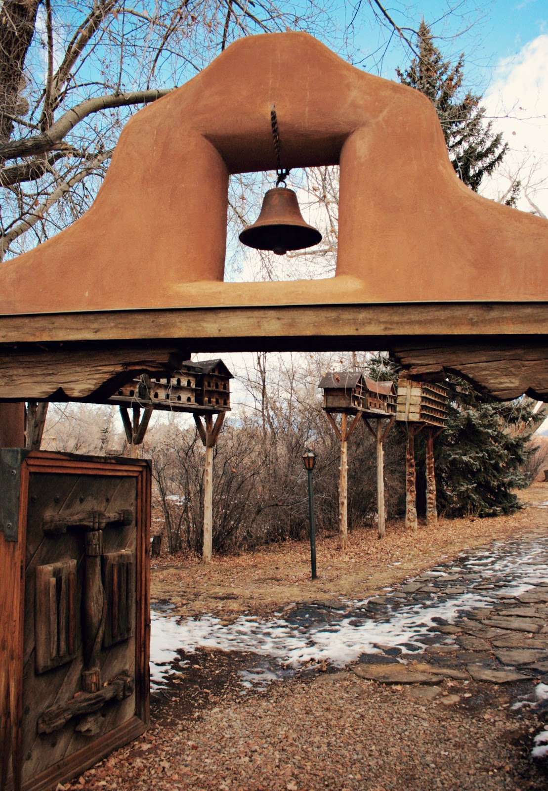 entrance to the grounds of the mabel dodge luhan house. Cars Review. Best American Auto & Cars Review