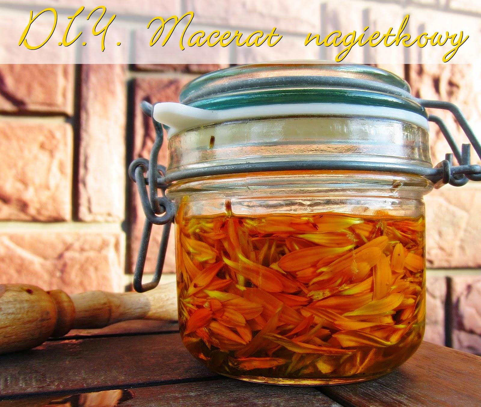 domowy olej nagietkowy