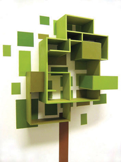furniture design idea: tree shelves designthorunn arnadottir