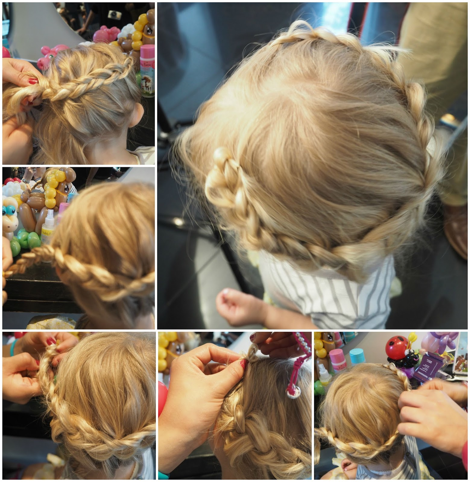 V I BASH Hair Nails A Girly Day Out With Childs Farm Plus