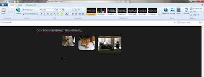 Buat Thumbnail Dengan Windows Live Writer