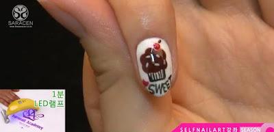 Sara Youtube Class! Sweet chocolate cupcake art video!