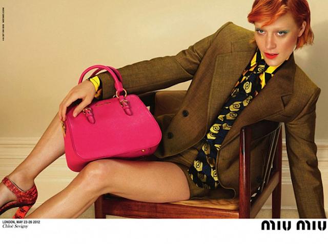 Chloë Sevigny | Miu Miu FW 2012 Campaign