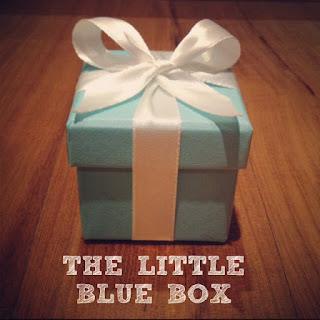 My little blue box!