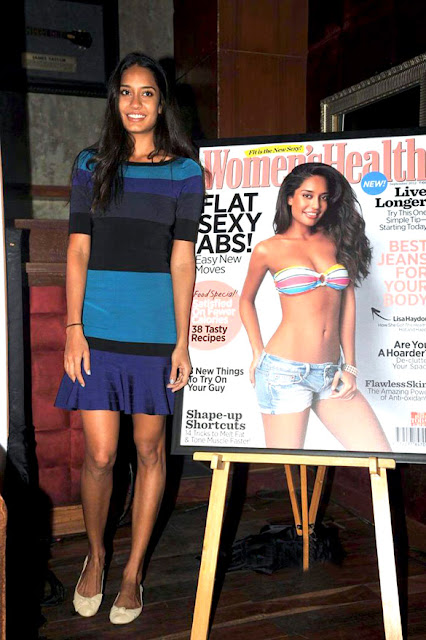 Lisa Haydon unveil the Women's Health magazine's