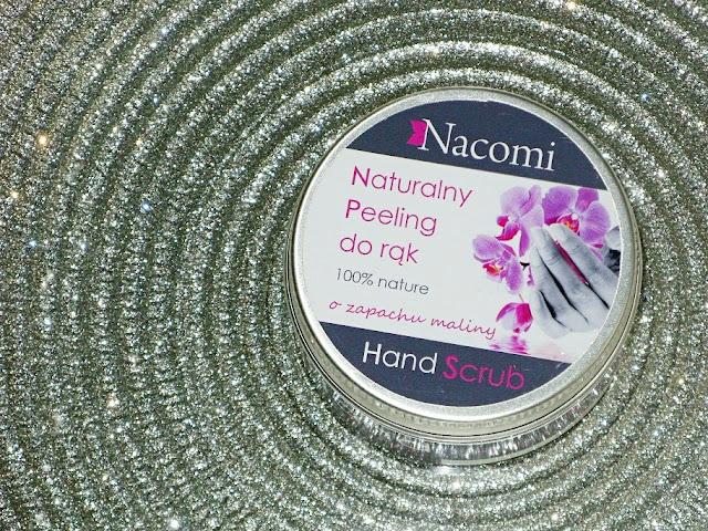 Recenzja: Naturalny peeling do rąk o zapachu maliny, Nacomi